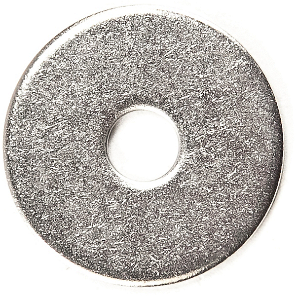 Harmony Stainless Steel Washer - 0.25 in. - 5 pack, , 600