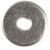 Harmony Stainless Steel Flat Washer 0.19 in. - 5 pack, , medium
