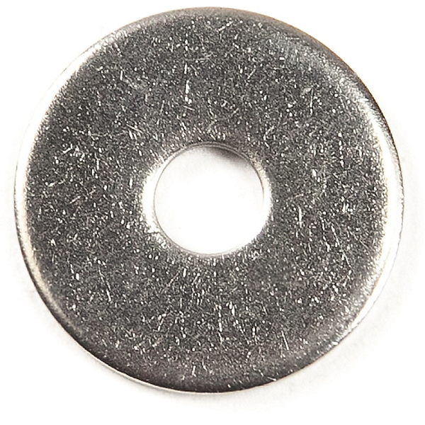Harmony Stainless Steel Flat Washer 0.19 in. - 5 pack, , 600