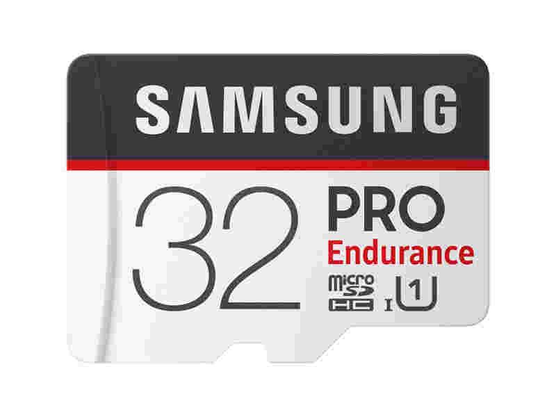 MicroSDHC PRO Endurance Memory Card w Adapter 32GB
