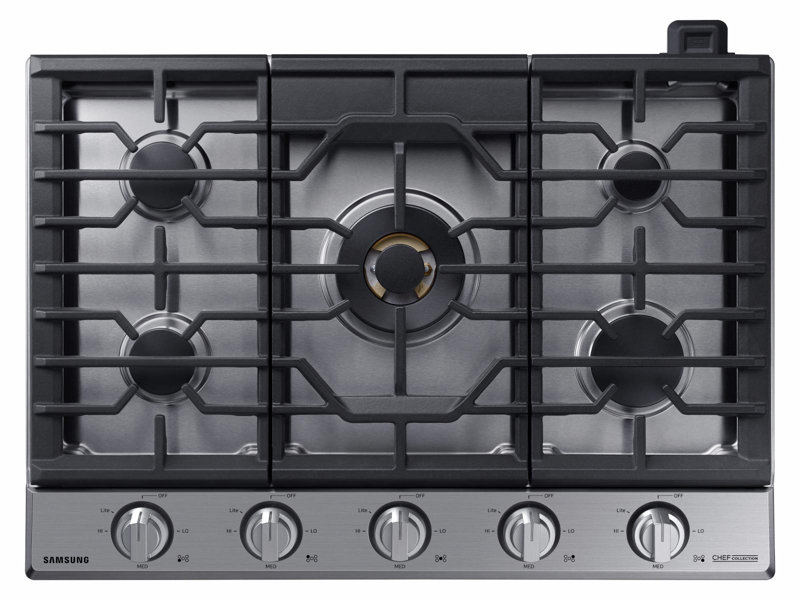 36u201d Gas Chef Collection Cooktop With 22K BTU Dual Power Burner (2017)