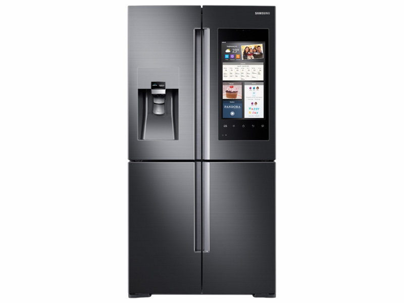 28 cu ft capacity 4 door flex refrigerator with family. Black Bedroom Furniture Sets. Home Design Ideas