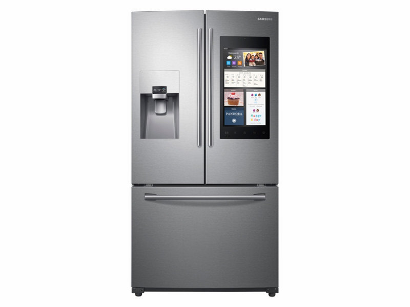 Capacity 3 -Door French Door Refrigerator with Family Hub