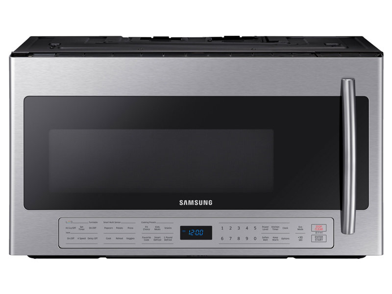 2 1 Cu Ft Over The Range Microwave With Ceramic Enamel Interior