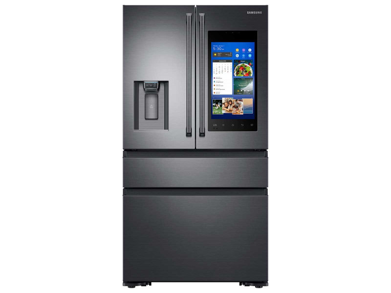 22 Cu Ft Capacity Counter Depth 4 Door French Door Refrigerator