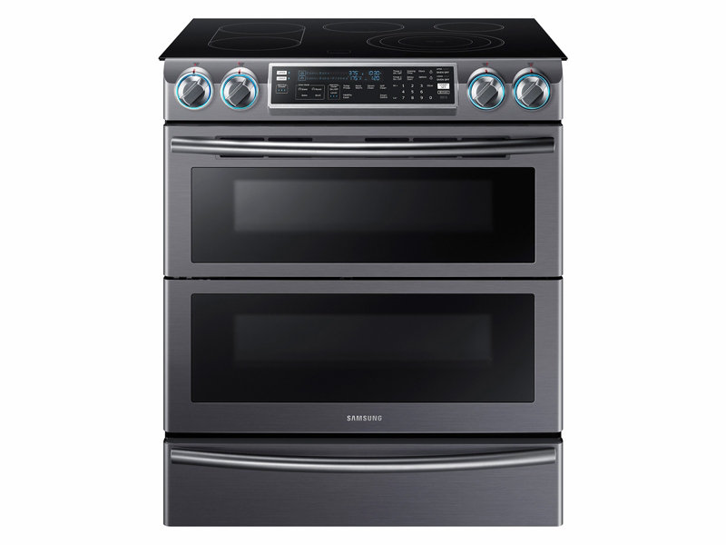 5 8 cu ft slide in electric flex duo range with dual door ranges rh samsung com samsung 28 l convection microwave oven user manual Convection Oven vs Conventional Oven