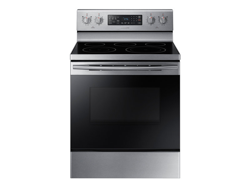 5.9 cu. ft. Freestanding Electric Range with Warming Center Ranges ...