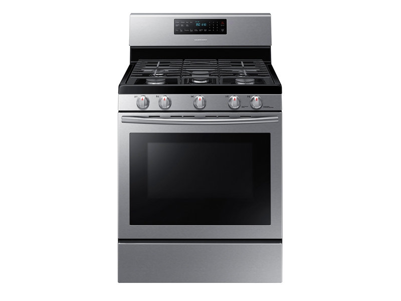 5 8 cu ft gas range with convection ranges nx58h5600ss aa rh samsung com us range convection oven manual Kenmore Elite Range ManualDownload