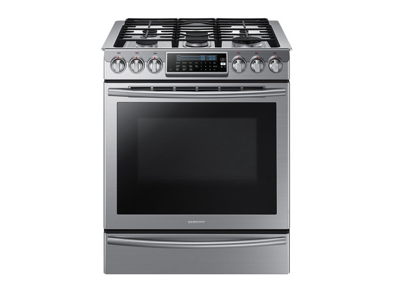 Superbe Slide In Gas Range With True Convection