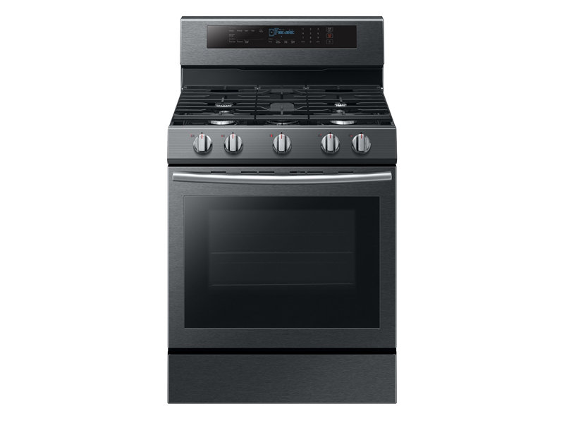 5.8 cu. ft. Freestanding Gas Range with True Convection Ranges ...