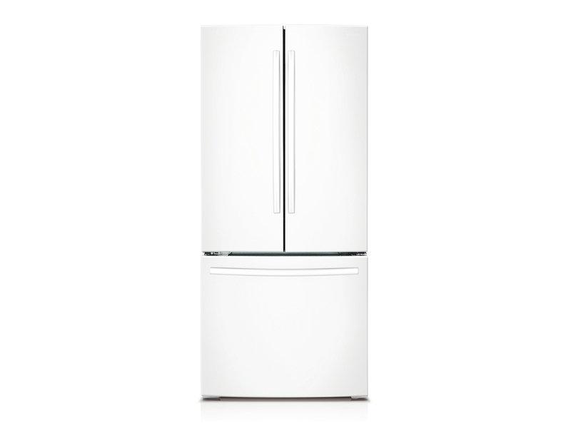 French Door Refrigerator  sc 1 st  Samsung & 22 cu. ft. French Door Refrigerator Refrigerators - RF220NCTAWW/AA ...