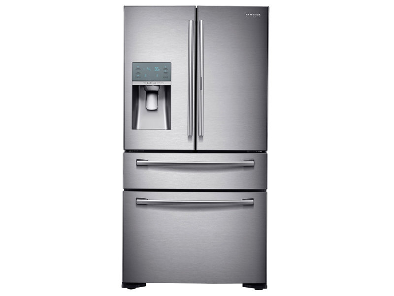 Counter Depth 4 Door French Door Food Showcase Refrigerator