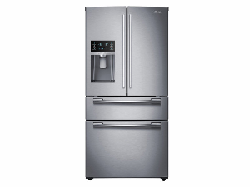25 cu. ft. 4-Door French Door Refrigerator Refrigerators ...
