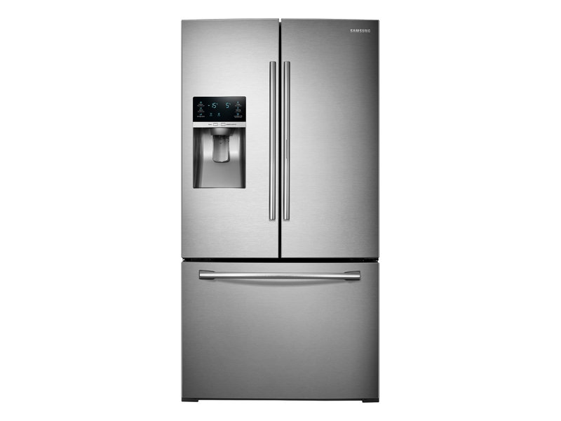 28 cu. ft. 3-Door French Door Food ShowCase Refrigerator ...