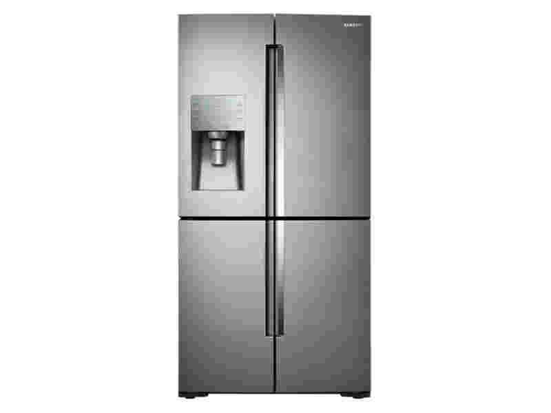 28 Cu Ft 4 Door Flex Food Showcase Refrigerator With
