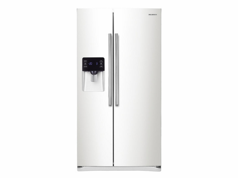 Side By Side Refrigerator With In Door Ice