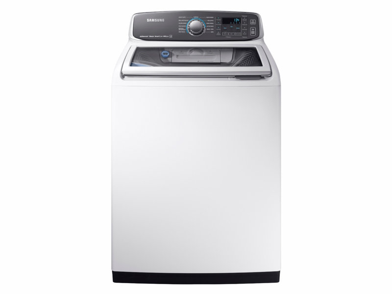 Wa7750 52 Cu Ft Top Load Washer Washers Wa52m7750awa4 Samsung Us