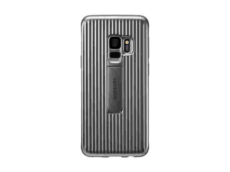 Galaxy S9 Rugged Protective Cover, Silver