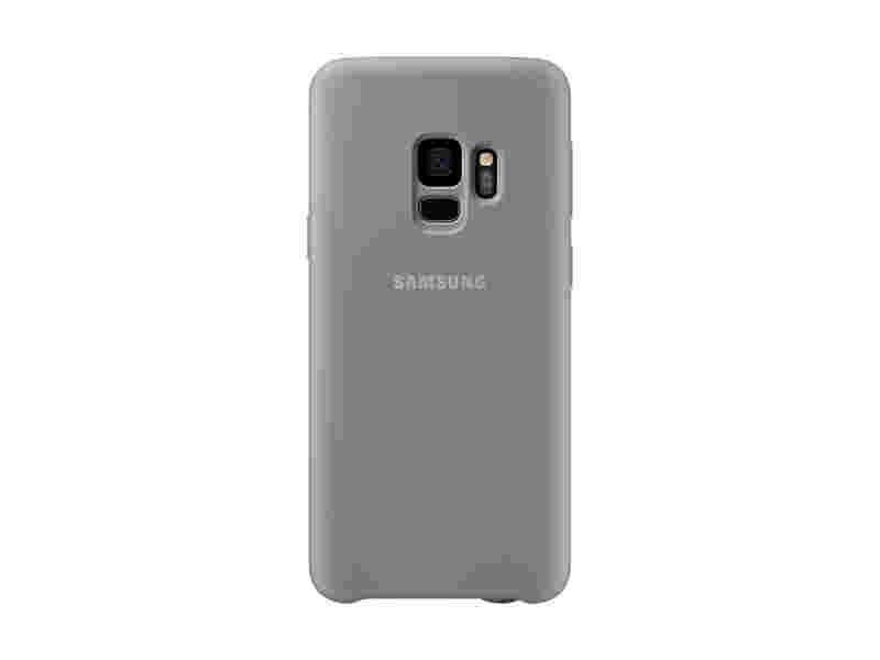 Galaxy S9 Silicone Cover, Gray