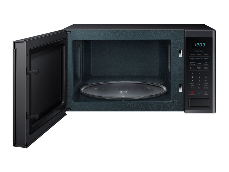 Countertop Microwave Black Stainless Steel