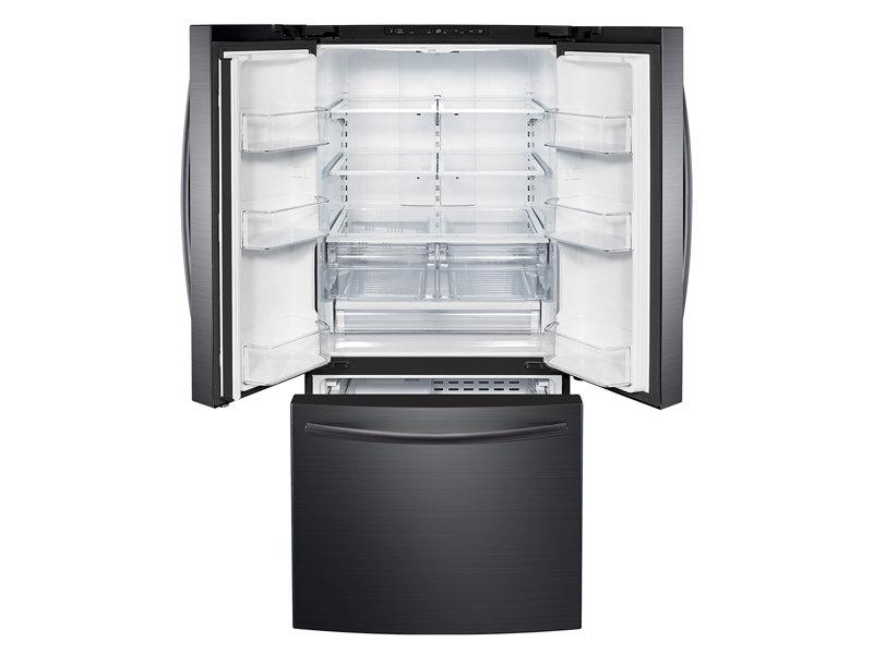 Samsung Rf220nctasg 22 Cu Ft French Door Refrigerator