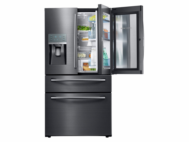 refrigerator 8 cu ft. 28 cu. ft. 4-door french door food showcase refrigerator 8 cu ft r