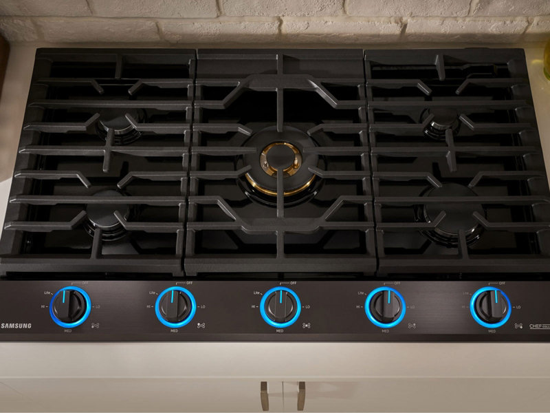30u201d gas chef collection cooktop with 22k btu dual power burner 2017 30 gas cooktop c75 gas