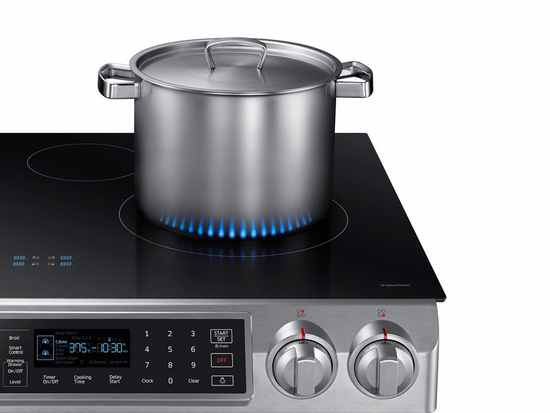Ordinaire Slide In Induction Range With Virtual Flame™