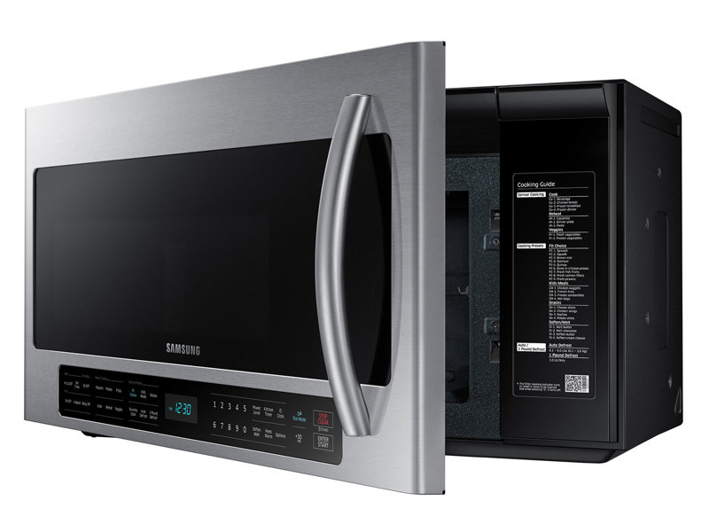 2 0 cu ft over the range microwave with sensor cooking microwaves rh samsung com Samsung Microwave Model SMH1816S Futuristic Microwave