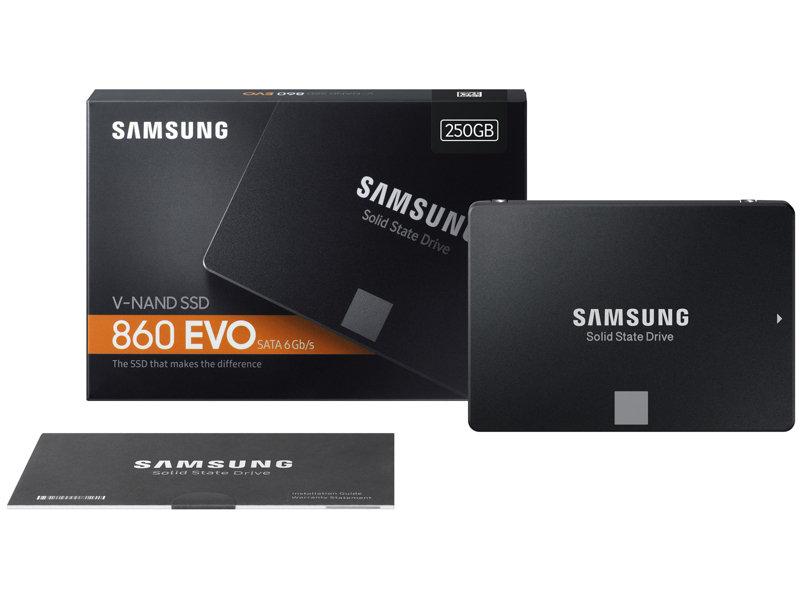 "SSD 860 EVO 2.5"" SATA III 250GB"