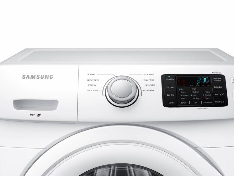 Wf42h5000aw Quiet Front Load Washing Machine With Vrt Samsung