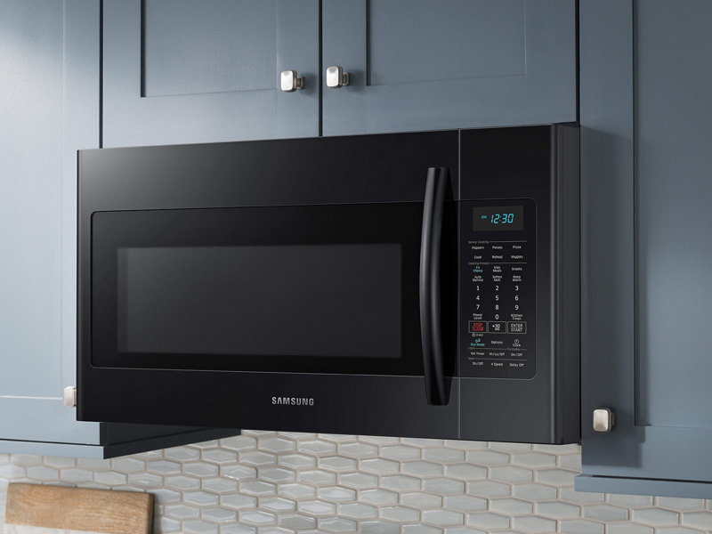 over the range microwave with sensor cooking