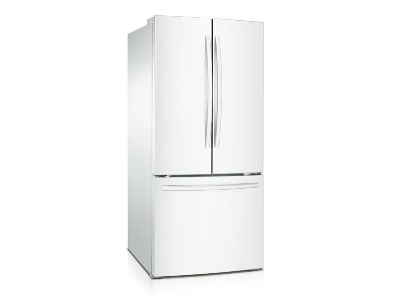 22 Cu Ft French Door Refrigerator Refrigerators Rf220nctawwaa
