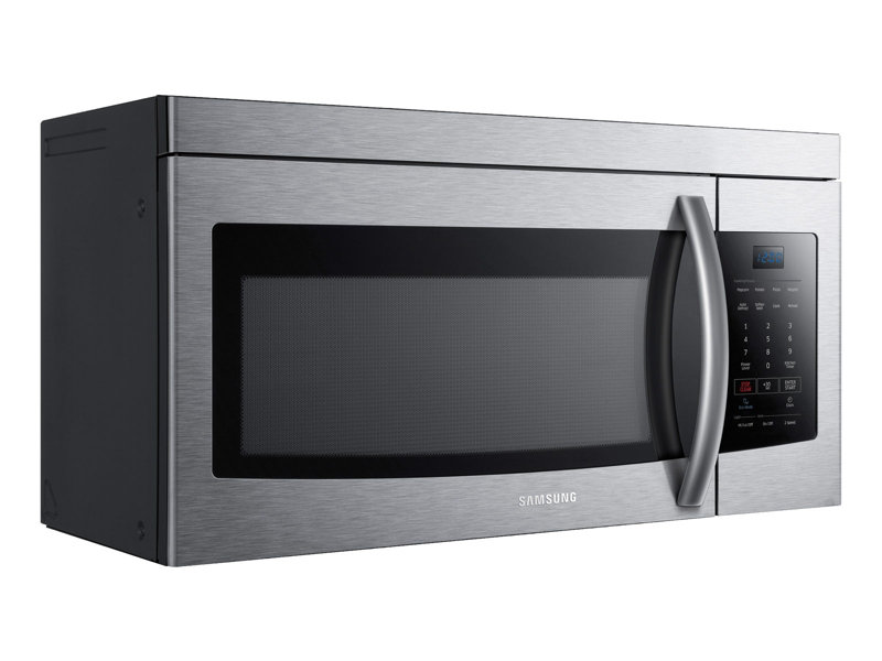 me16k3000as aa 1 6 cu ft over the range microwave stainless steel rh samsung com