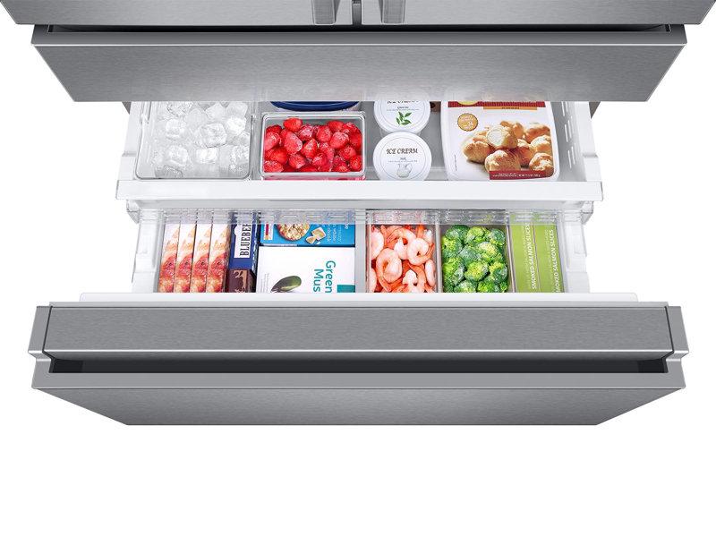 Preferred 23 cu. ft. Capacity Counter Depth 4-Door French Door Refrigerator  EG42