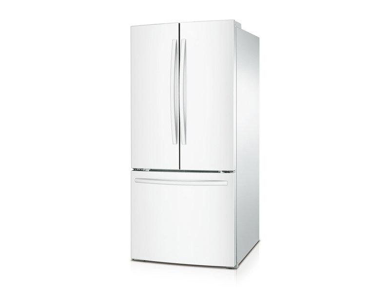 white french door refrigerator. French Door Refrigerator White