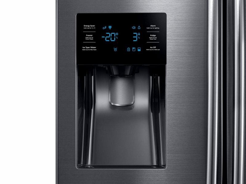 25 Cu Ft French Door With External Water Ice Dispenser
