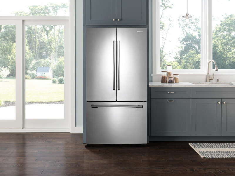 26 Cu Ft French Door With Filtered Ice Maker Refrigerators