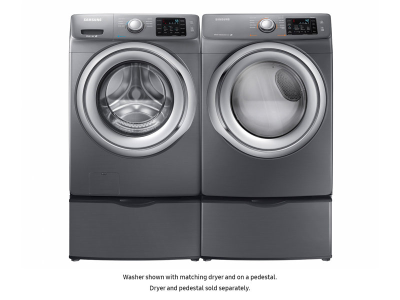 Wf5200 42 Cu Ft Front Load Washer Washers Wf42h5200apa2