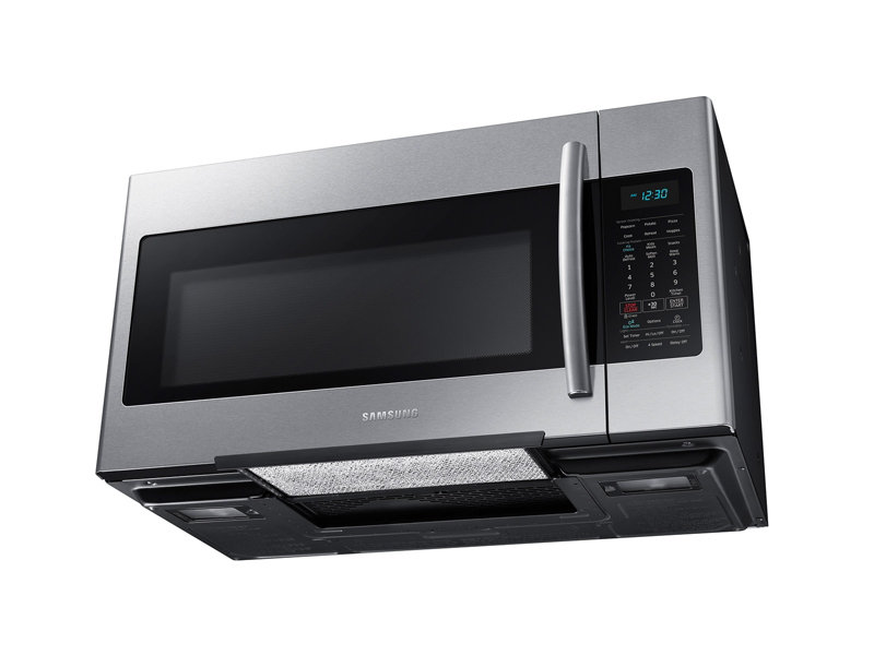 1 8 cu ft over the range microwave with sensor cooking microwaves rh samsung com Samsung Microwave Parts Diagram Samsung 1816s Microwave Installation Template
