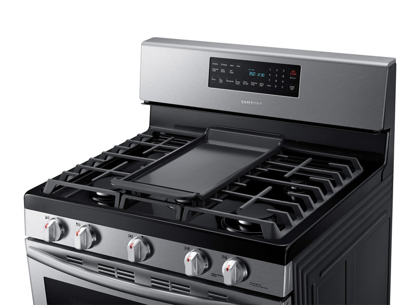 5.8 cu. ft. Gas Range with Convection Ranges - NX58H5600SS/AA ...