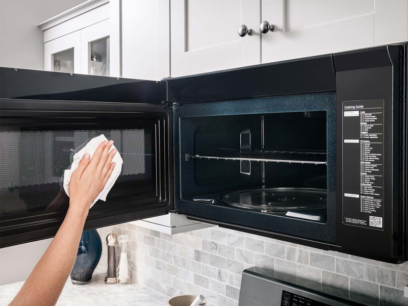 over the range microwave with multisensor cooking