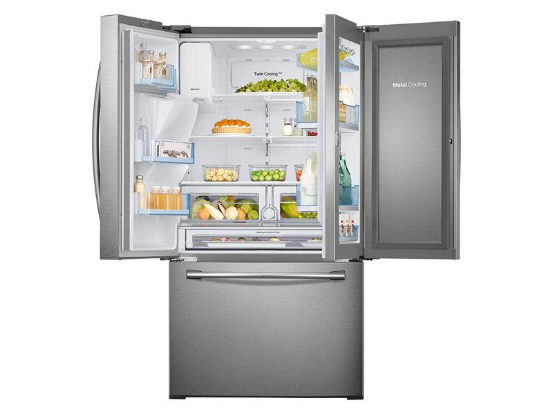 28 cu. ft. 3-Door French Door Food ShowCase Refrigerator ...