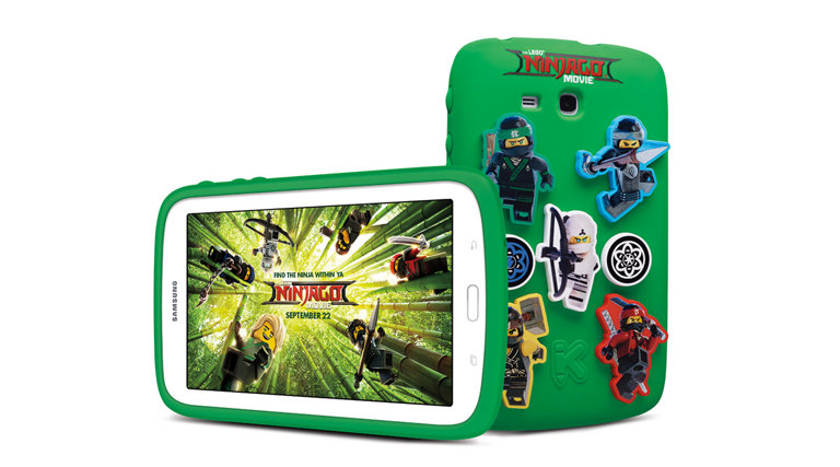 Samsung Galaxy Kids Tablet 70 The Lego Ninjago Movie Edition