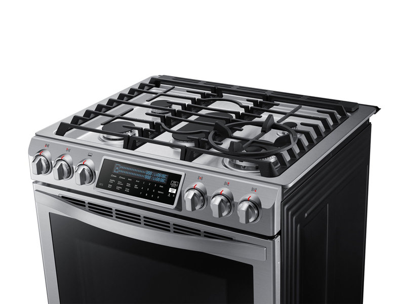 Slide In Gas Chef Collection Range With True Convection