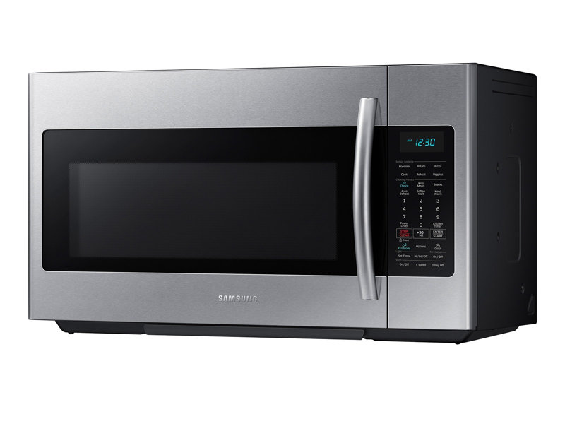 1 8 cu ft over the range microwave with sensor cooking microwaves rh samsung com Samsung Microwave Oven Troubleshooting Samsung Microwave Over the Range
