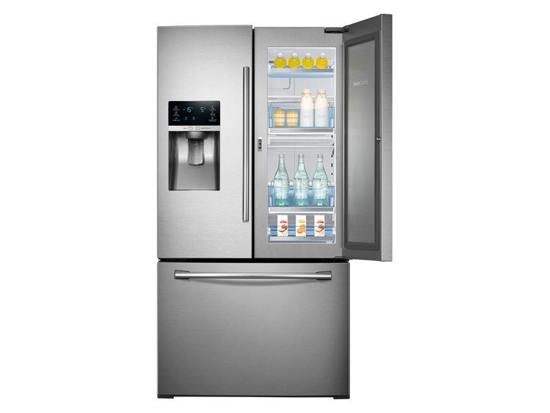 Gentil 3 Door French Door Food ShowCase Refrigerator