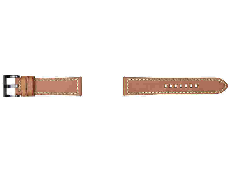 Tuscany Leather Band for Galaxy Watch 46mm & Gear S3, Tan