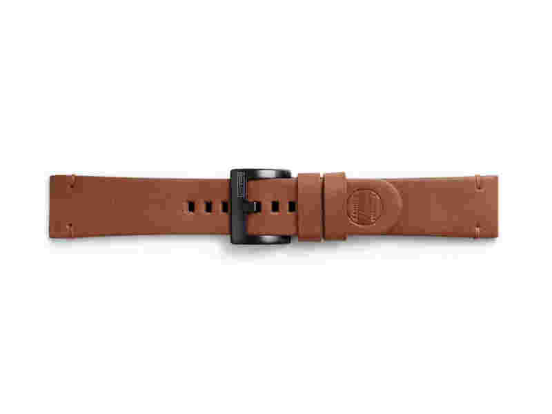 Essex Leather Band for Galaxy Watch 46mm & Gear S3, Chestnut