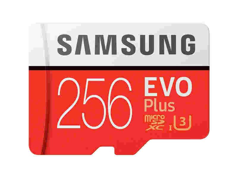 MicroSDXC EVO Plus Memory Card w/Adapter 256GB